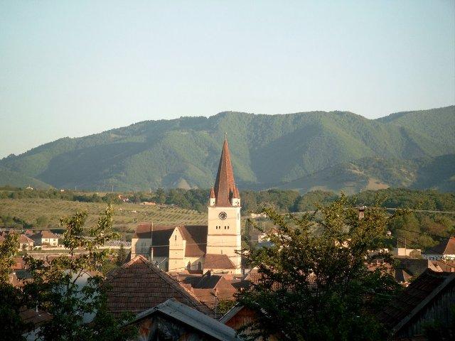 Das siebenbürgische Städtchen Heltau
