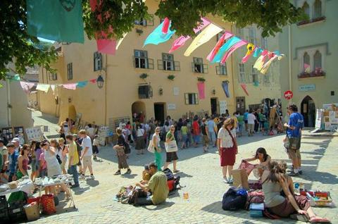Mittelalterliches Festival Schässburg 2013