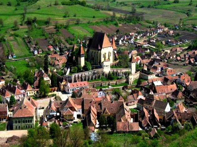 Birthälm, eine der wichtigsten Kirchenburgen in Siebenbürgen