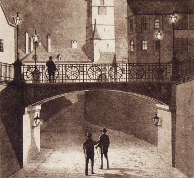 Legenden der Lügnerbrücke in Hermannstadt