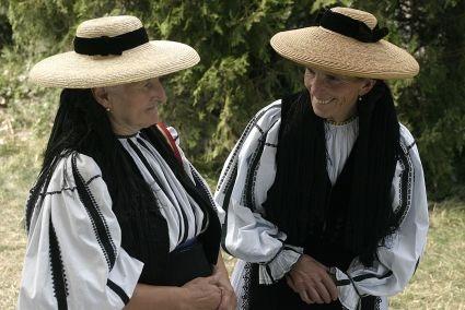 National Kostüme, eine Feier in Auendorf