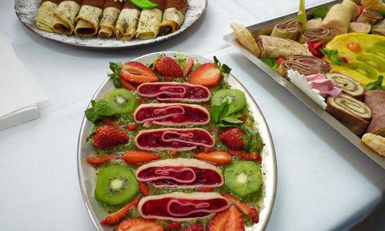 Pfannkuchen Festival in Tartlau, eine appetitliche Tradition