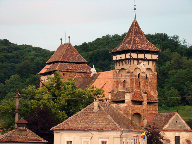 Wurmloch, das siebenbürgische Dorf