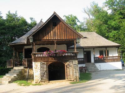 Wirtshaus der Alten, wie in den Geschichten von Creangă