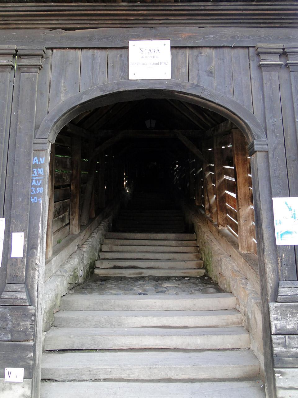 Die Schüler Treppen in Schäßburg