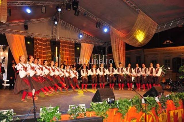 La Sibiu, in Piata Mare, Targ de n-are asemanare!