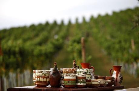 Der Wein von Halvelagen, symbolisch für Siebenbürgen