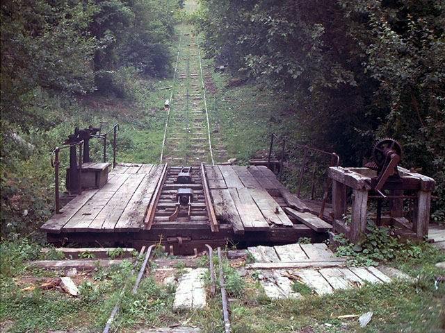 Planul inclinat din Valea Zanelor, Covasna