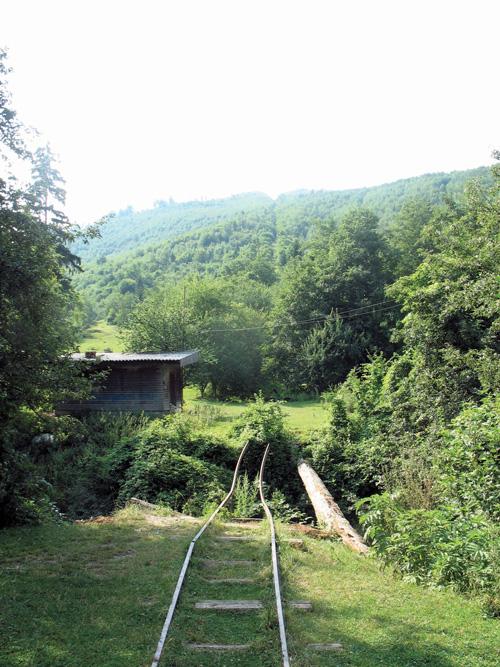 Die Schiefe Ebene aus dem Fee Tal, Covasna