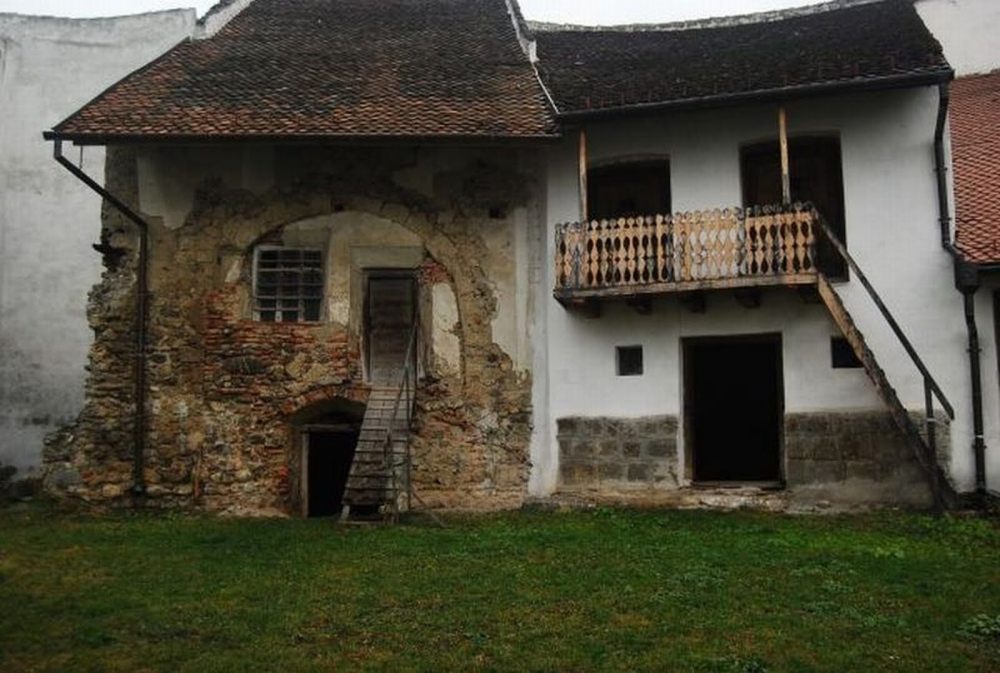 Die Honigberg Festung, an den türkischen Invasionen angepasst