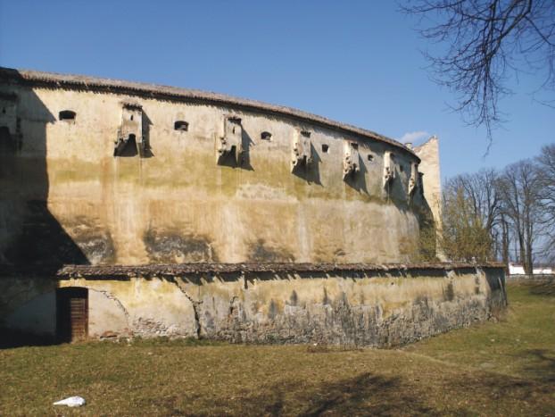 Fortareata Harman, adaptata dupa masura invaziilor turcesti