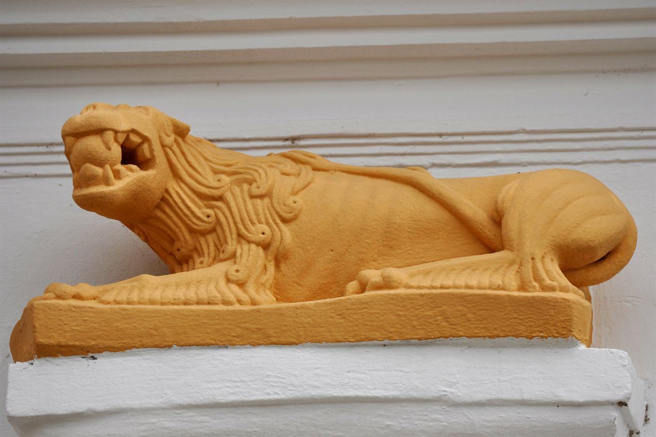 """Das """"Schuller Haus"""", ein Renaissance-Denkmal, dessen genaues Alter nicht bekannt ist"""