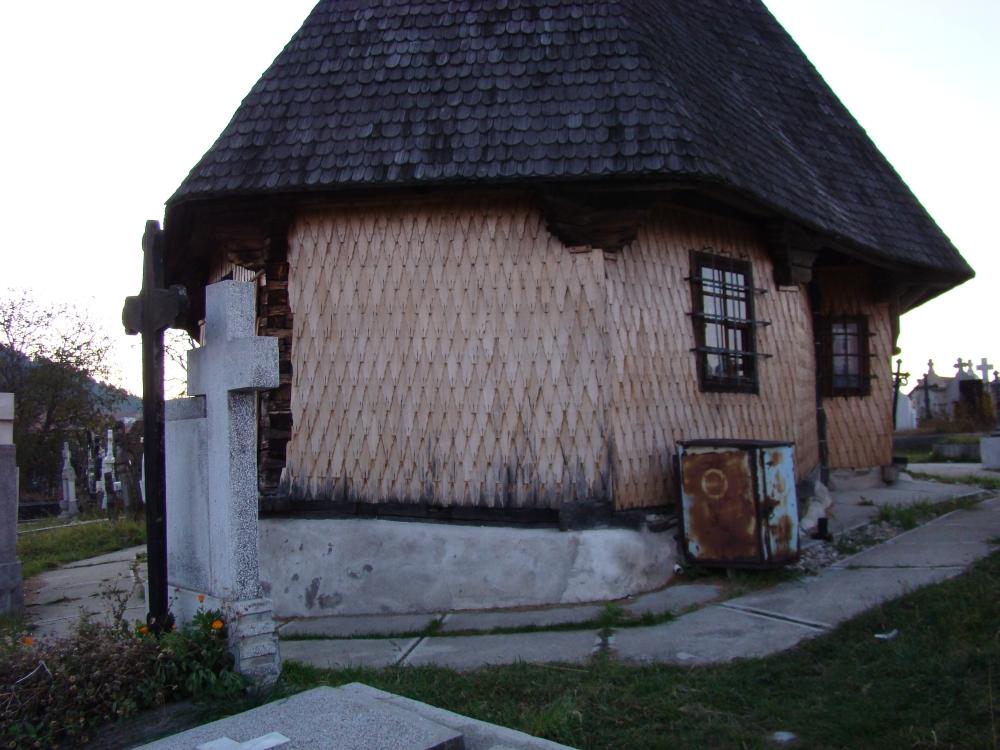 Die Legende der Holzkirche aus Flussau