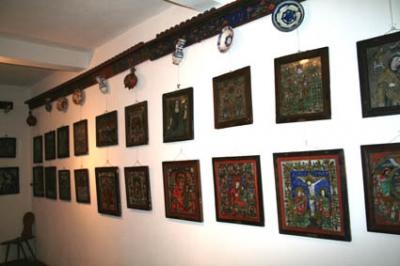Museum der Ikonen auf Glas bei Budenbach, die größte Sammlung von Siebenbürgen