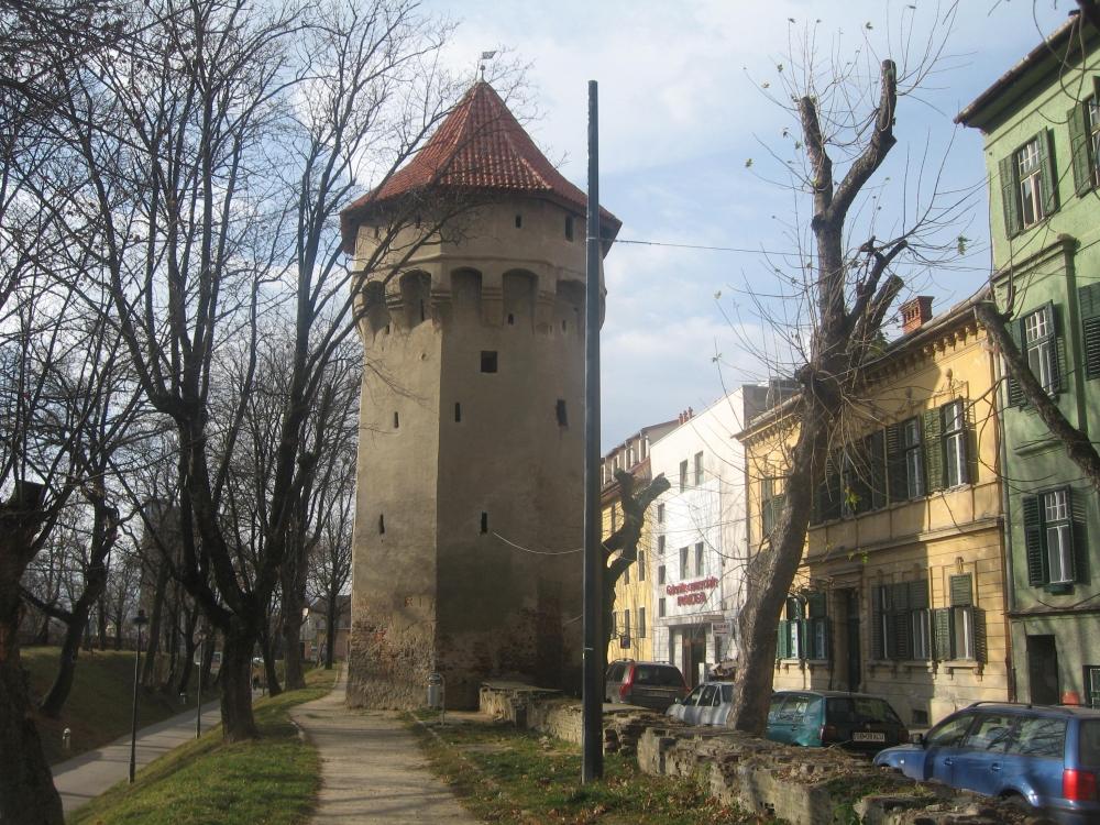 Der Arkebusierer Turm in Hermannstadt gebaut vor über 600 Jahren
