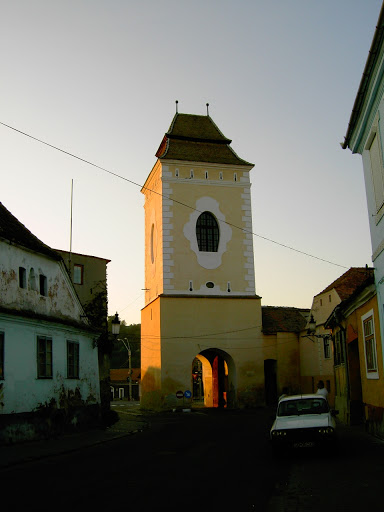 Der Steingasser Turm in Mediasch
