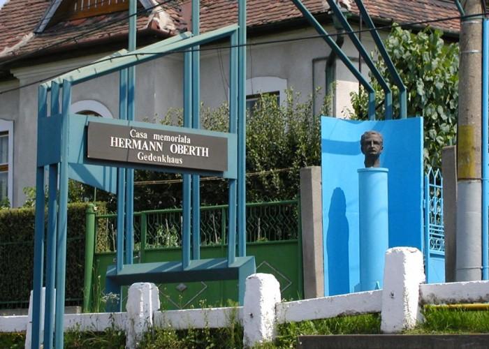 "Casa memoriala ""Hermann Oberth"", muzeul al pionierilor in spatiu."