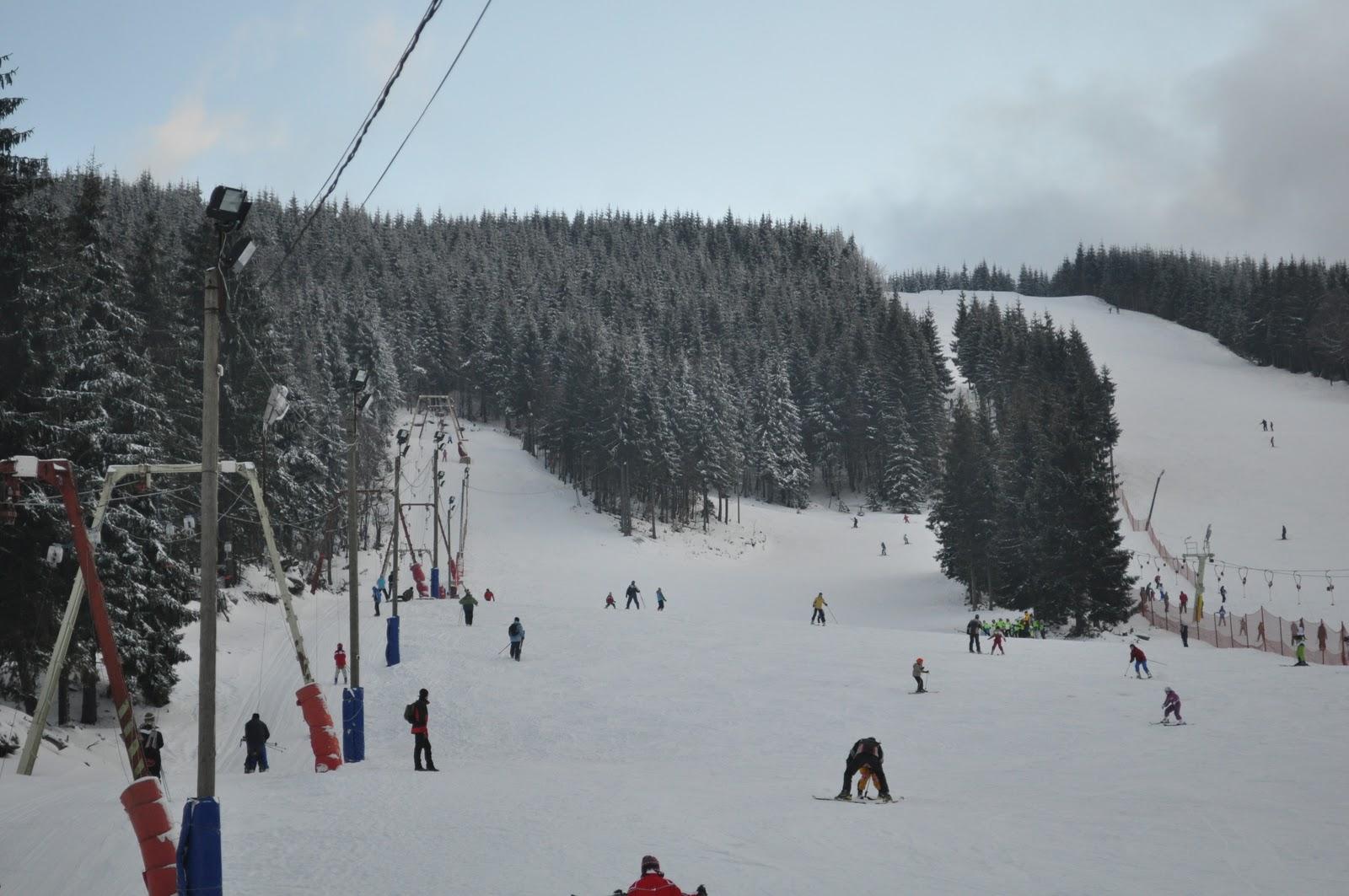 Ski in Transilvania. Judetul Alba