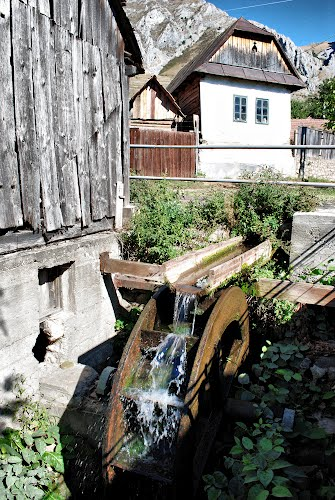 Die Wassermühle von Rimetea erbaut in 1752