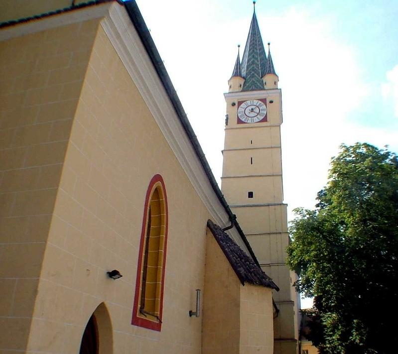 Der Marien Turm in der Burg des Lichts, der Ort wo Vlad Tepes eingesperrt wurde