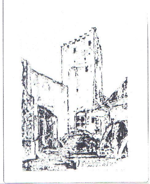 Turnul Mariei din Cetatea Luminii, locul in care a fost inchis Vlad Tepes