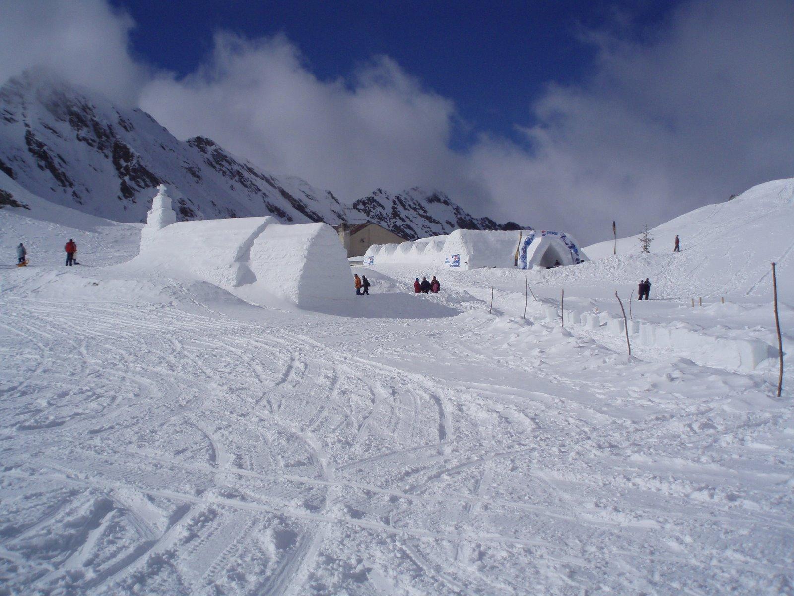 Balea, ein Paradies für Wintersportler