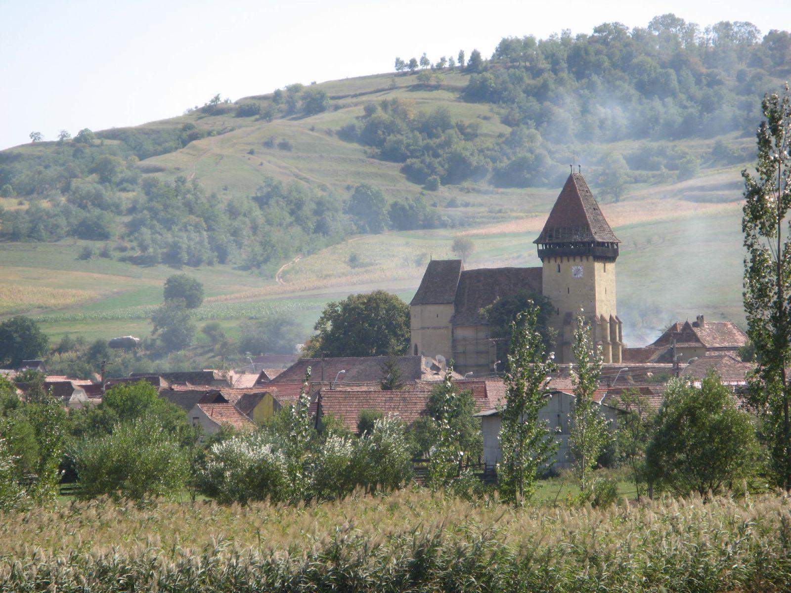 Die Wehrkirche in Eibesdorf