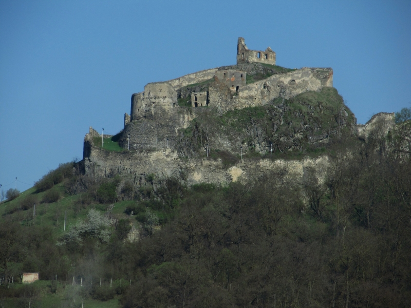 Die Legende der Festung Reps, eine der ältesten Siedlungen in Rumänien