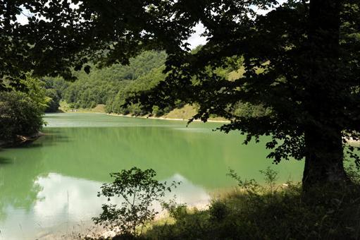Paradisul din Munții Trașcăului, lacul Iezer Ighiel