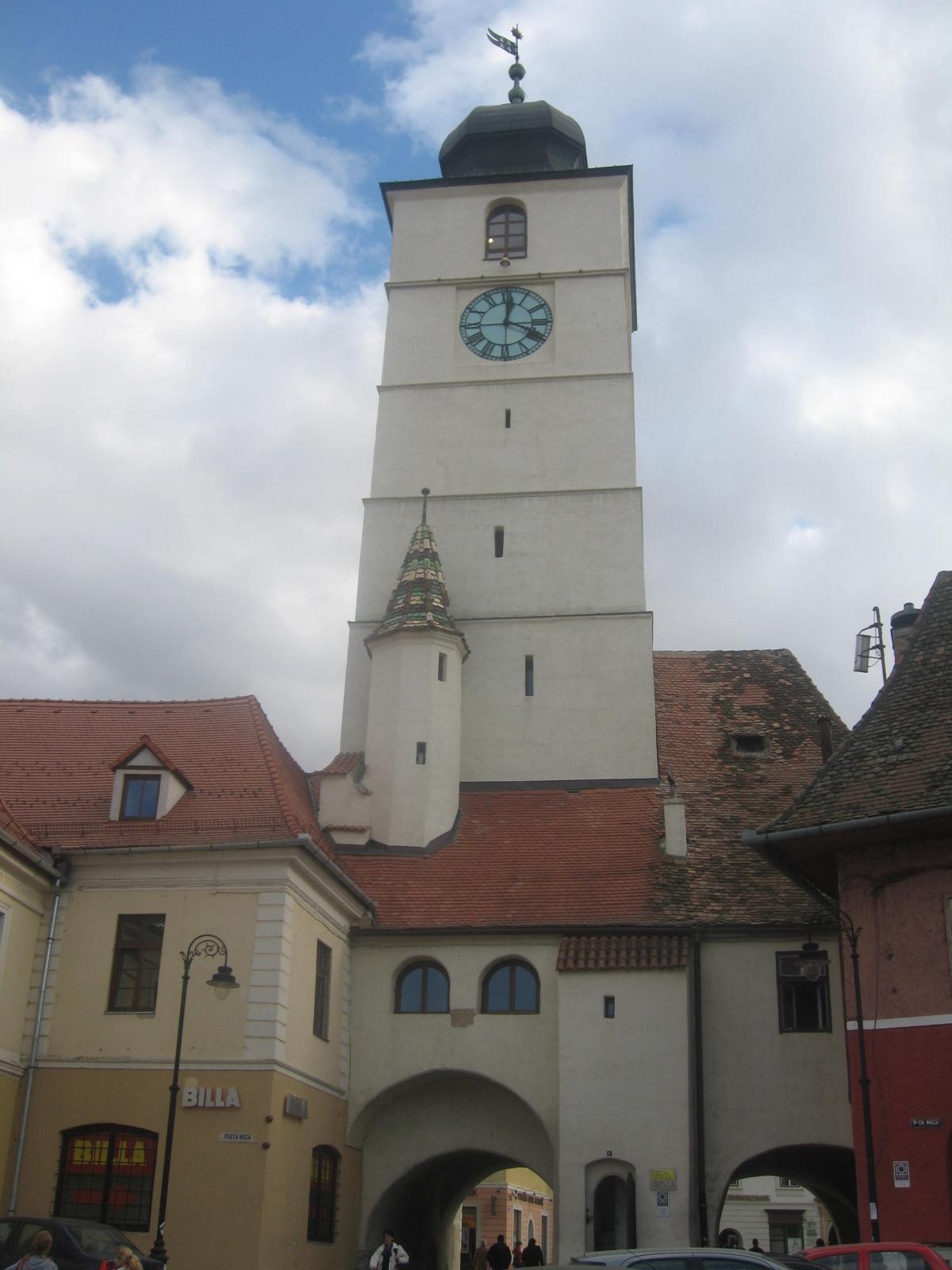 Povestea Turnului Sfatului din Sibiu