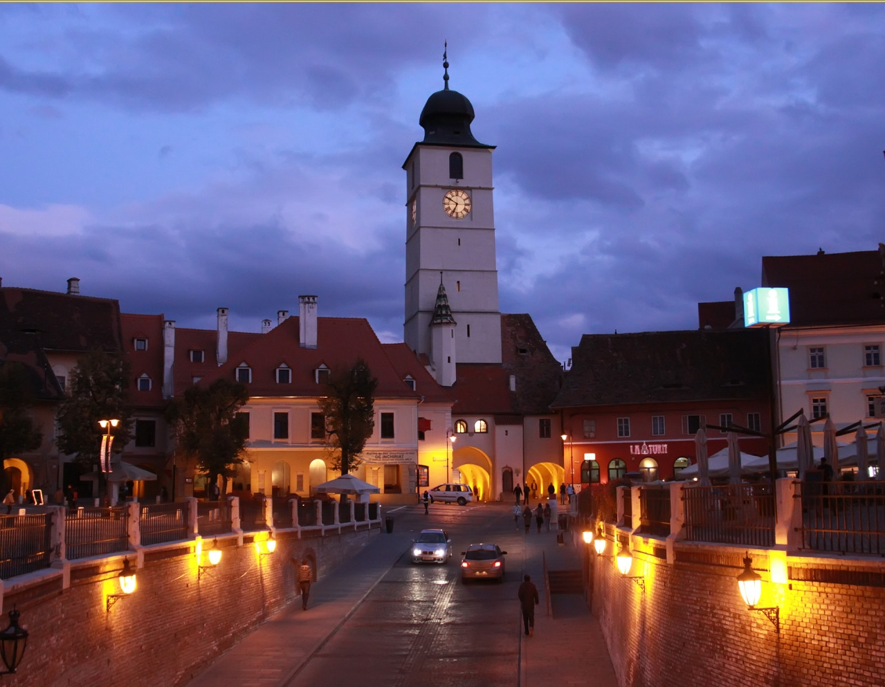 Die Geschichte des Ratturms von Hermannstadt
