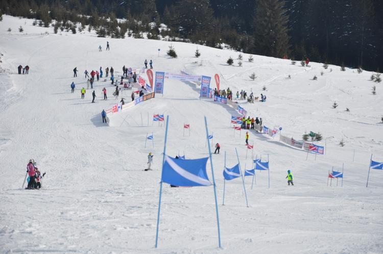 Cupa de ski a Consulatului Austriei la Sibiu, pe partia din Arena Platos