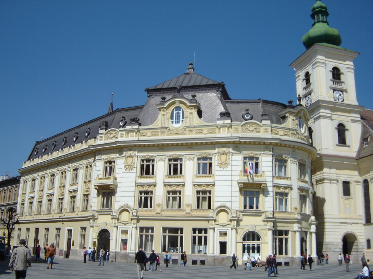Sibiul, propus pentru cea mai buna destinatie turistica in 2013