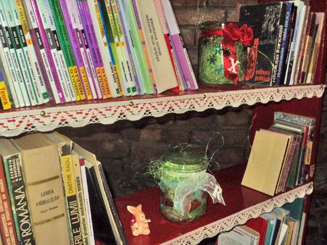 Marmeladenglas mit Geschichten, eine andere Art von Bibliothek
