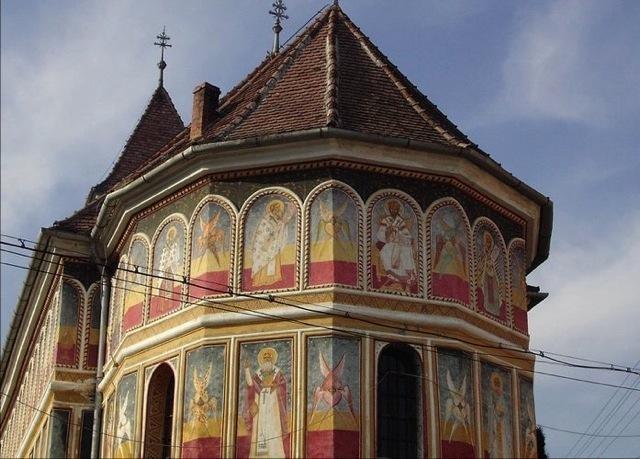 Die Legende der alten Kirche in Klein-Talmesch