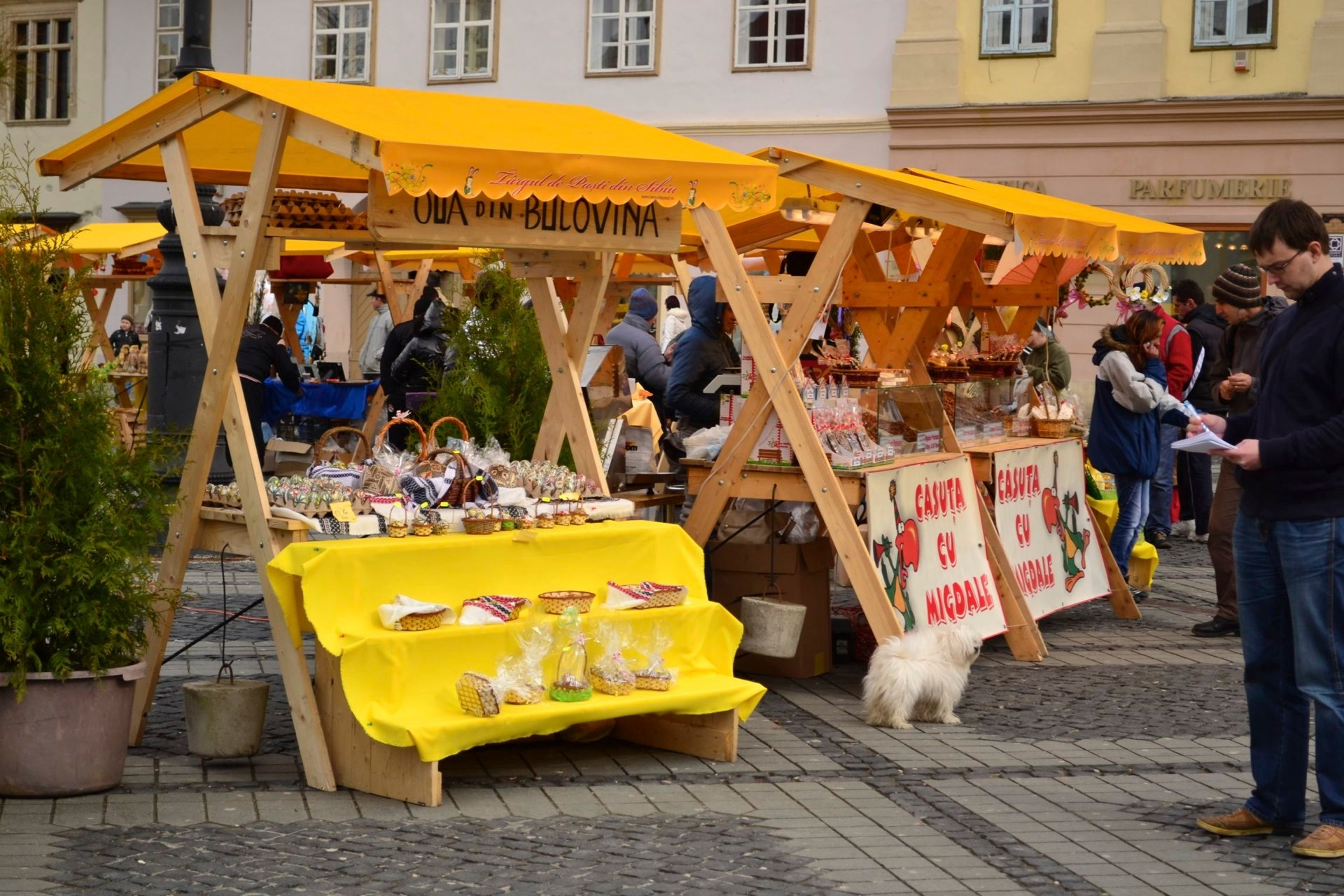 Die Ostermesse in Hermannstadt, zwischen 26. April und 7. Mai