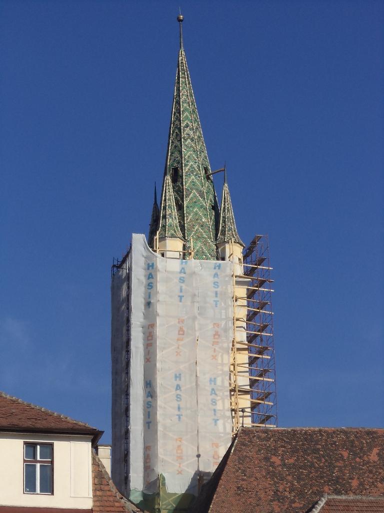 Reabilitarea Turnului Trompeților din Mediaș