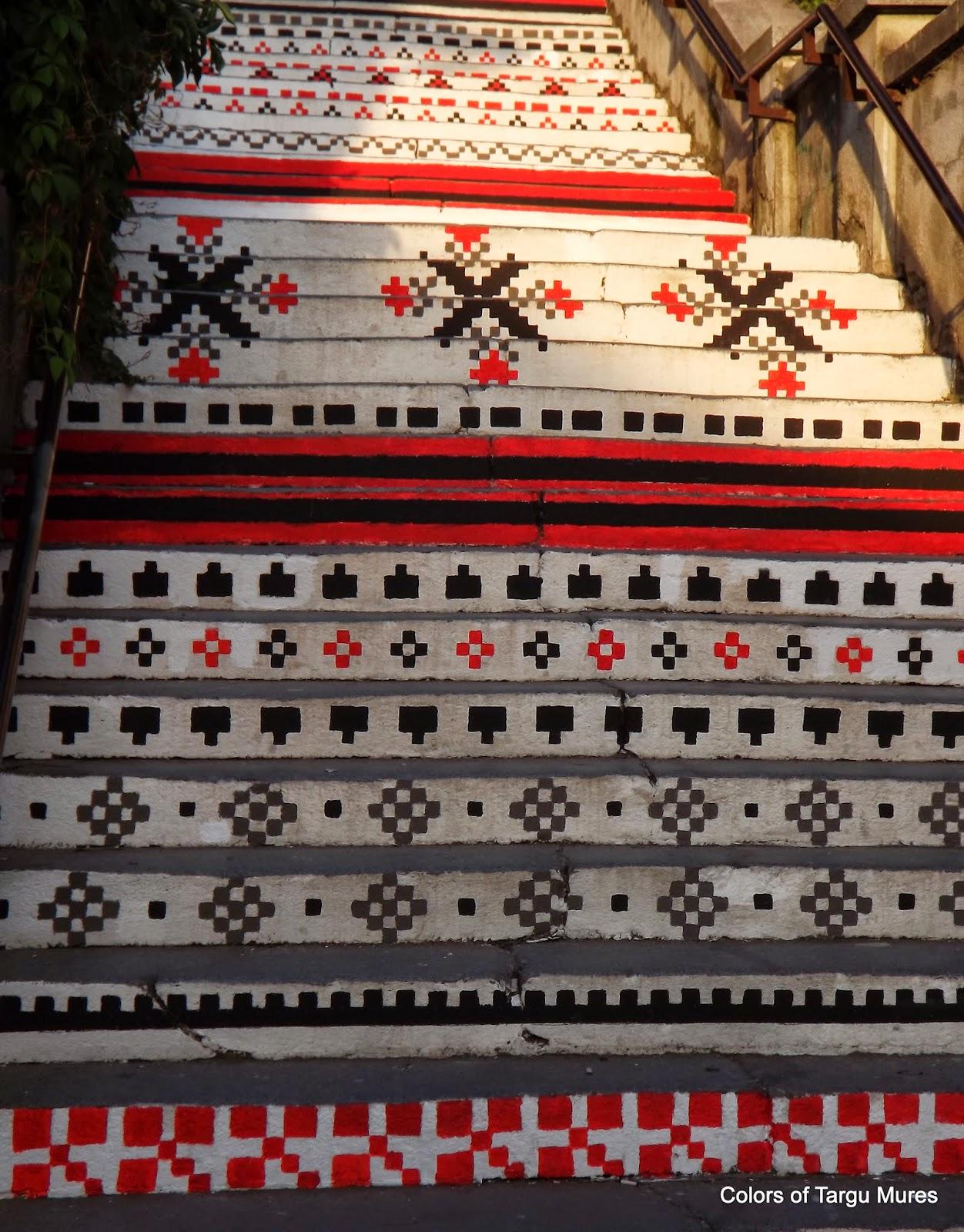 Scara Rakoczi din Târgu Mureș