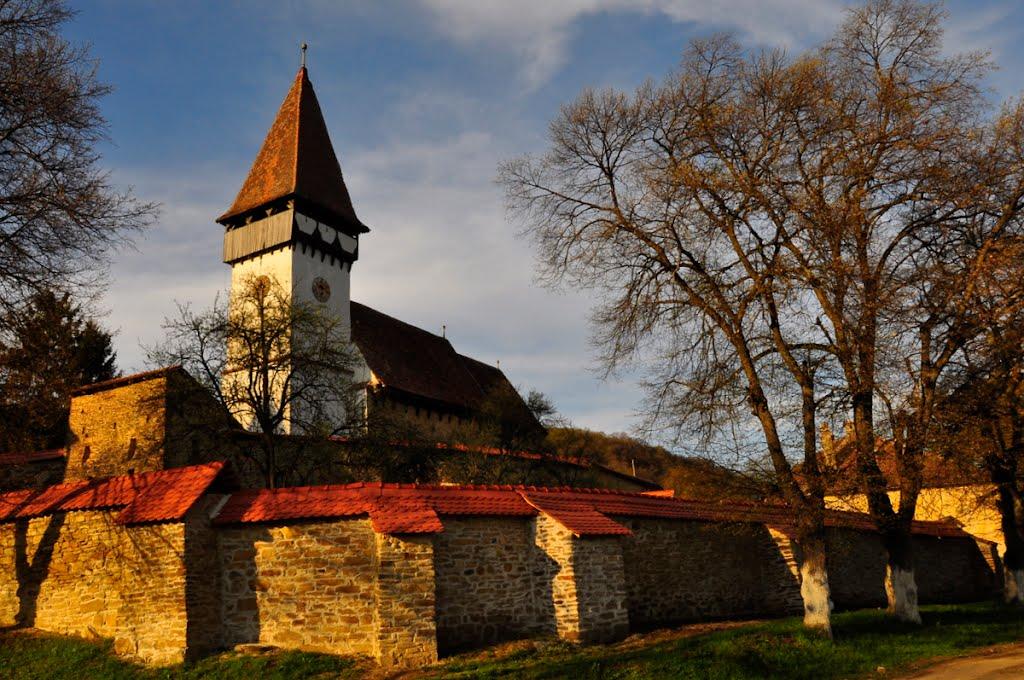 Biserica fortificată Meșendorf